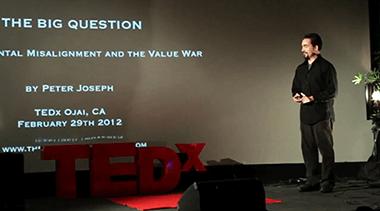 Peter Joseph – TEDx Ojai – La Grande Domanda (2012)