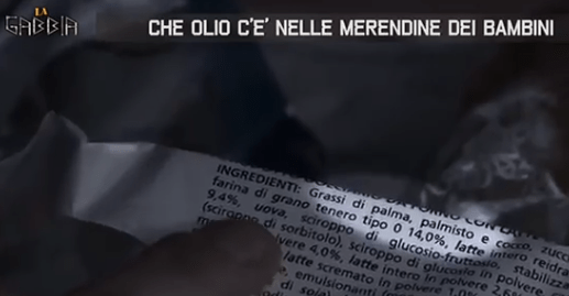 Olio Di Palma:  Olio Vegetale Grassi Saturi (Video)