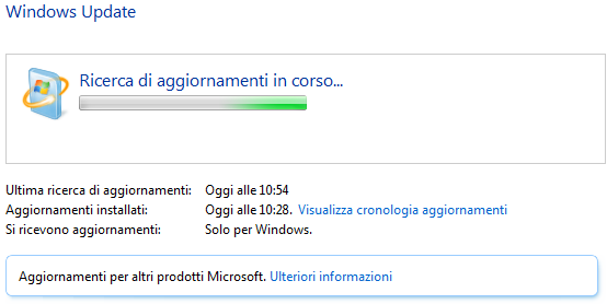 Windows Update: No Aggiornamenti E Consumo Eccessivo CPU