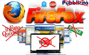 Firefox: Blocca Pubblicità Su Il Fatto Quotidiano, ANSA e YouTube