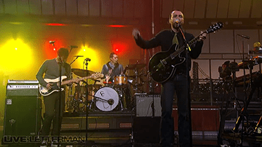 The Shins: Simple Song Live Letterman 2012 (Video Clip)