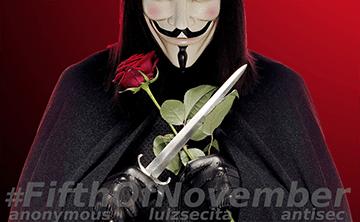 Anonymous Italia: Operazione 5 Novembre #FifthOfNovember (Video 2018)