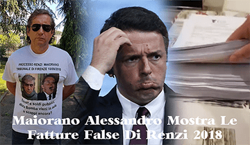 Maiorano Mostra Le Fatture False Di Renzi (Video 2018)