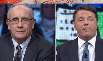 Renzi Senza Pudore: Bugiardo Patologico Senza Vergogna (Video 2018)