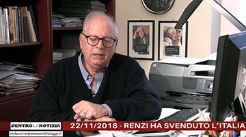 Renzi Ha Svenduto L'Italia All'Ue: Alto Tradimento (Video 2018)