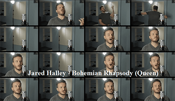 Jared Halley: Bohemian Rhapsody (Video Clip)