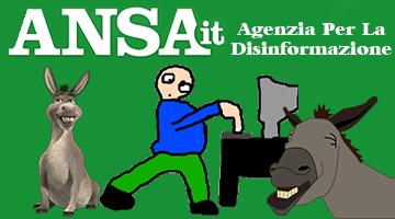 ANSA: Agenzia Per La Disinformazione (27/05/2019)