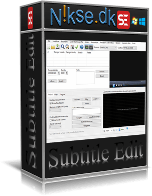 Subtitle Edit v3.6.0 Portable