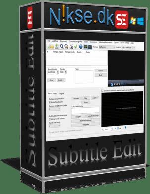 Subtitle Edit v3.6.2 Portable