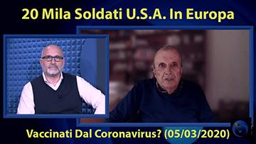 ByoBlu: Invasione Di 20 Mila Soldati U.S.A. In Europa (Video 2020)