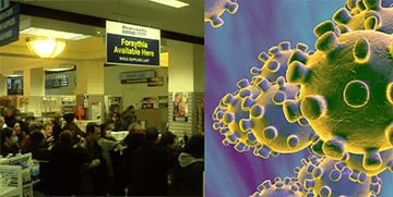 Coronavirus: Contagion (Film 2011)  Diventa Reale (Video 2020)
