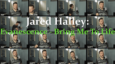 Jared Halley: Evanescence - Bring Me To Life (Video Clip)