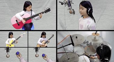 Miumiu Guitargirl – 6 Anni: Hotel California (Video Clip 2020)